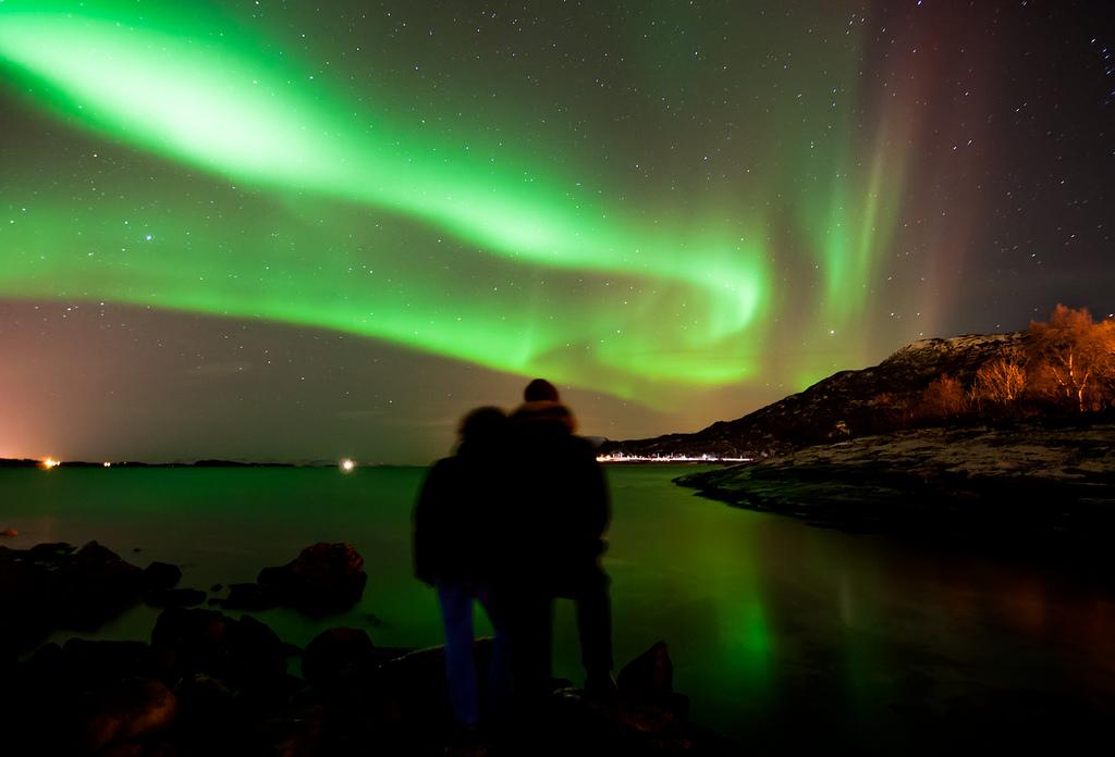 viajar a islas lofoten para ver la aurora boreal