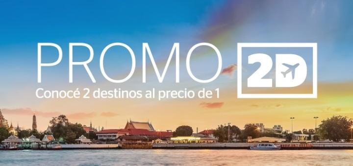 promo 2 destinos al precio de 1 vuelos multi destino en oferta