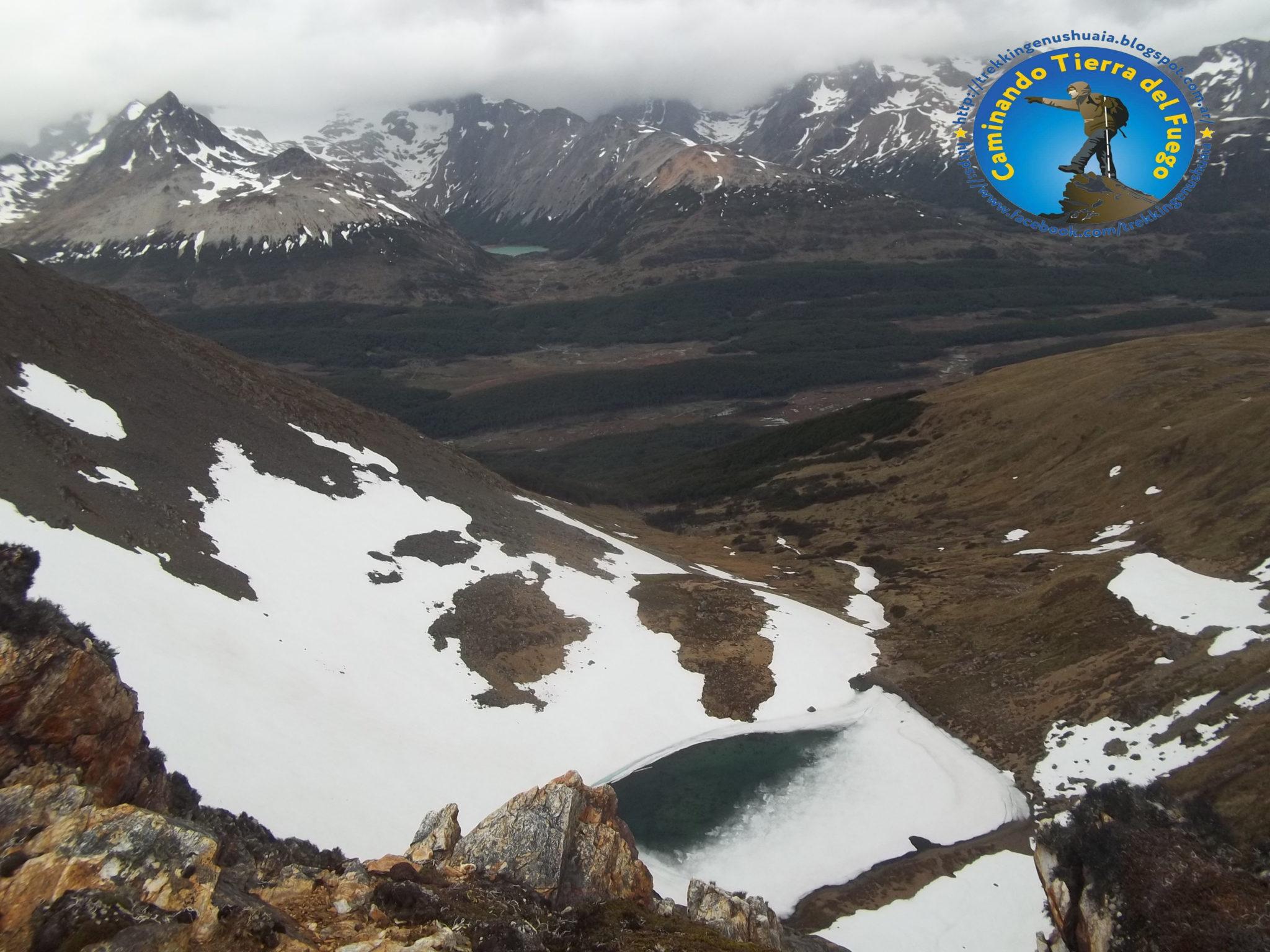 trekking laguna turquesa senderismo en ushuaia