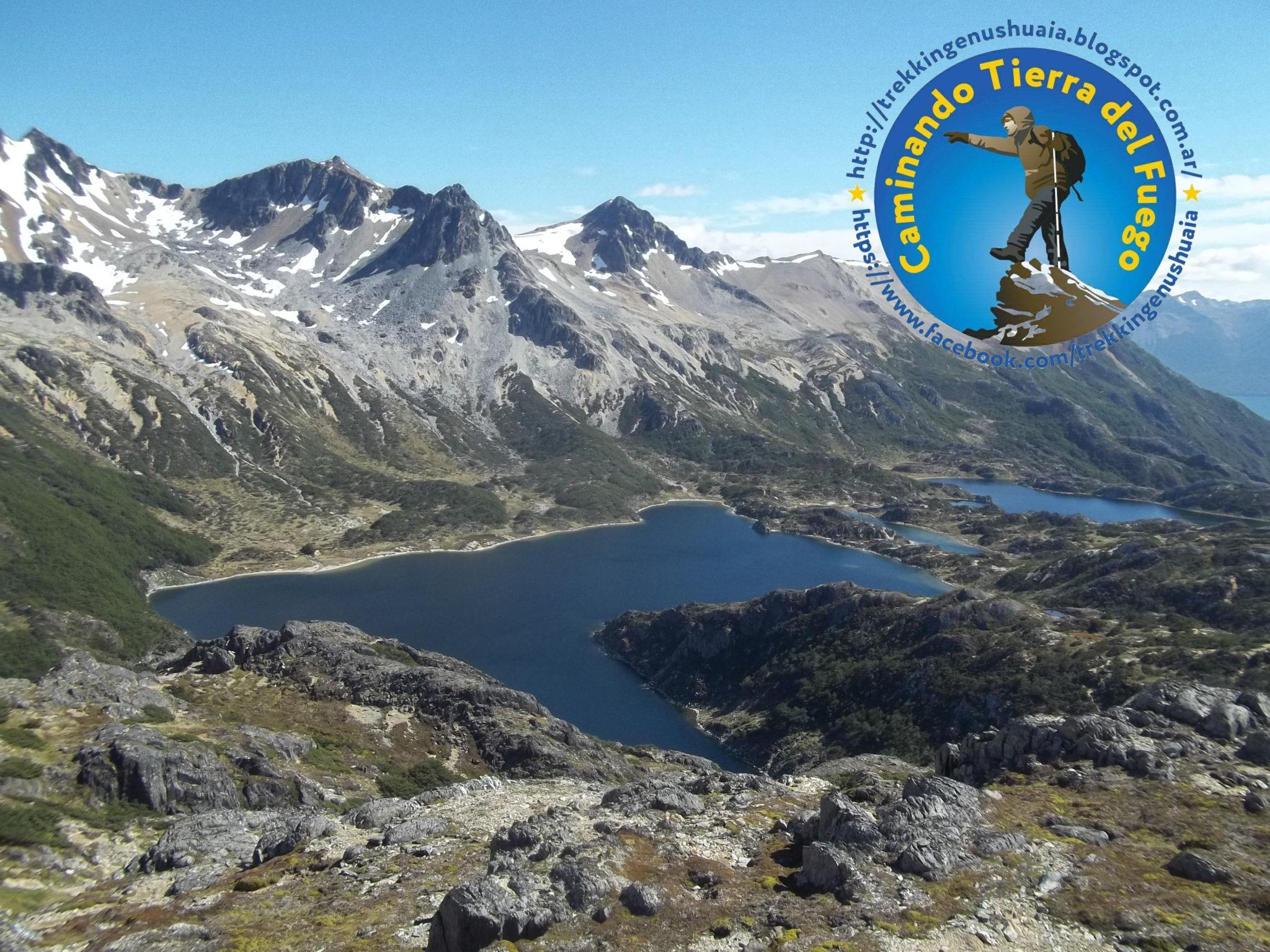 trekking paso 5 lagunas en ushuaia rutas de senderismo en ushuaia