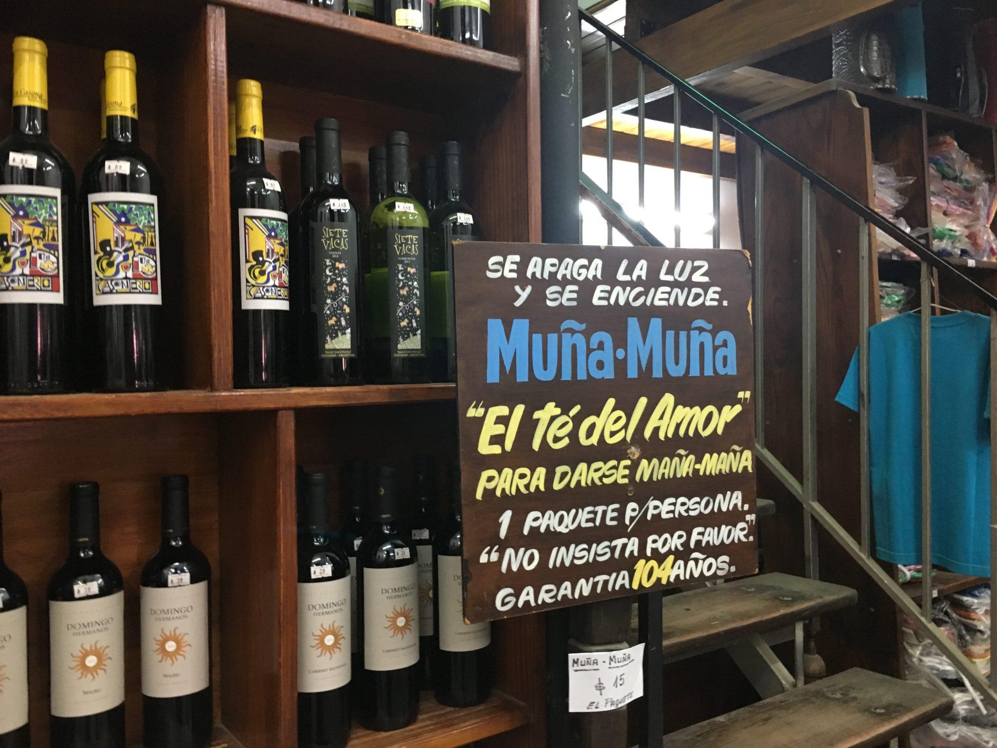 Muña Muña tour excursión la ruta del vino salta mendoza y jujuy