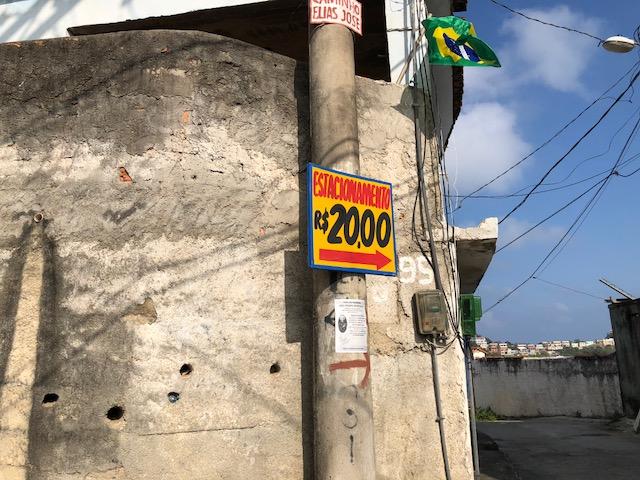 precio estacionamiento pedra do telegrafo