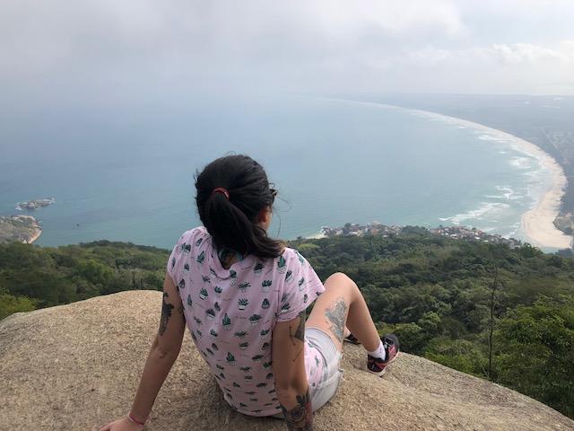 vista panoramica trilha pedra do telegrafo