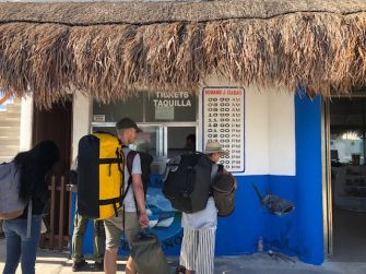 cómo ir a holbox desde playa del carmen pasajes chiquila a holbox en ferry