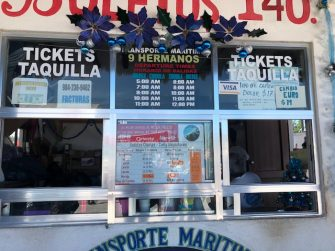 terminal ferry chiquilá a holbox horarios 9 hermanos