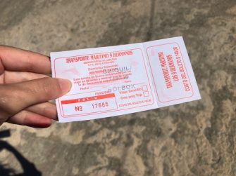 ticket ferry chiquilá a holbox