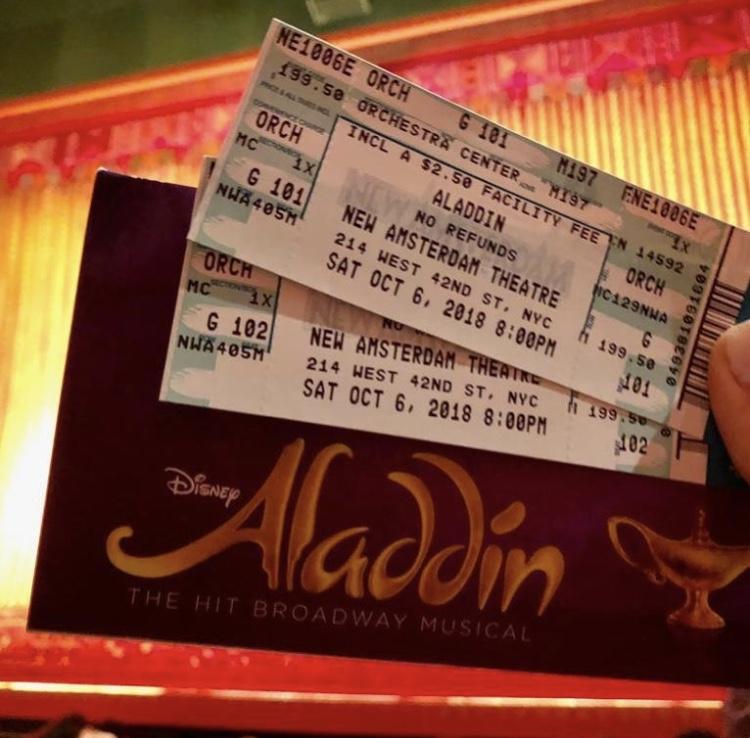 entradas aladdin obra de teatro broadway musicales en nueva york
