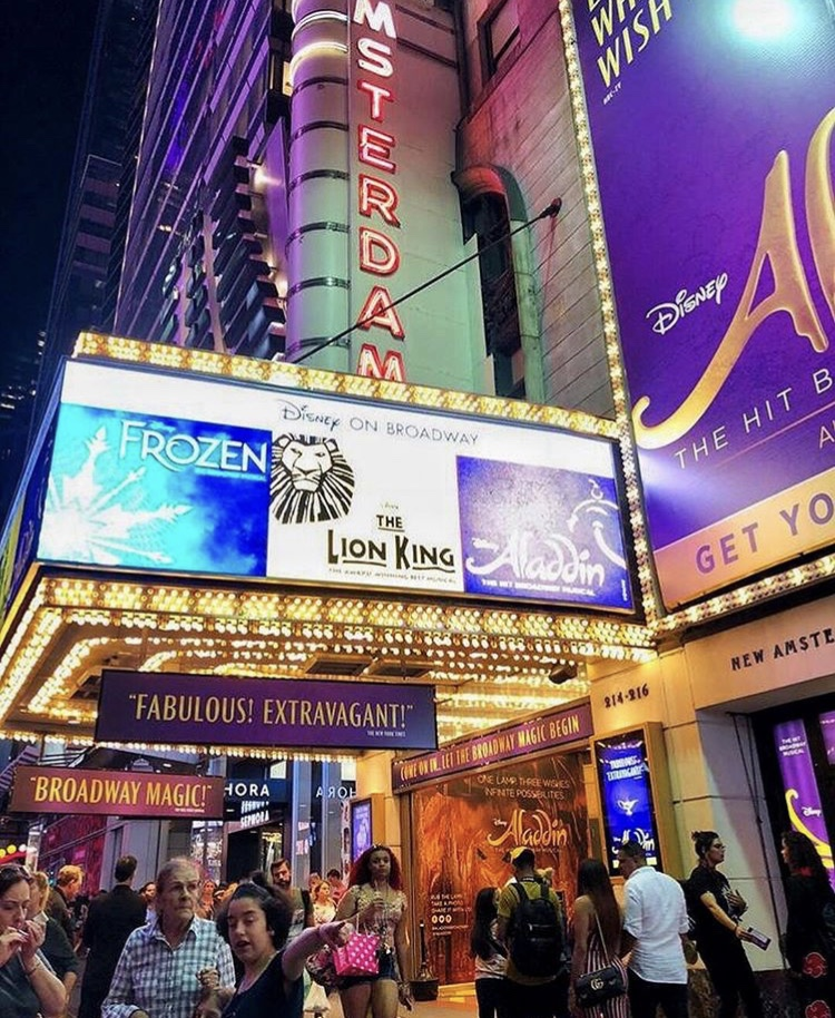 teatro obra aladdin musicales broadway