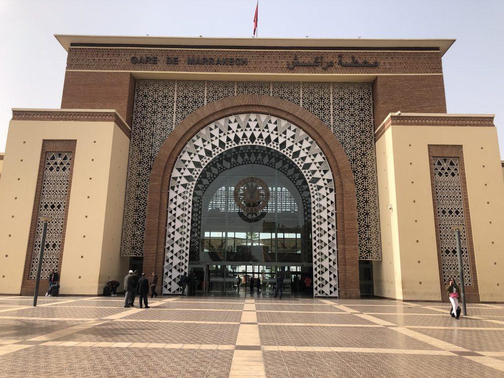 Terminal de Marrakech - Terminal de trenes en Marruecos