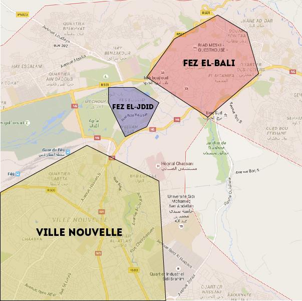 dónde hospedarse en Fez?