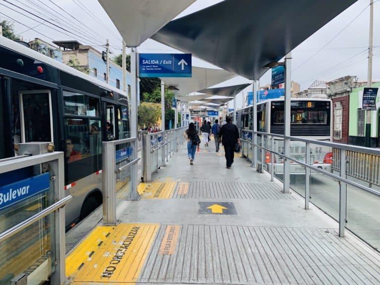 Viajar desde Miraflores hasta el centro de Lima